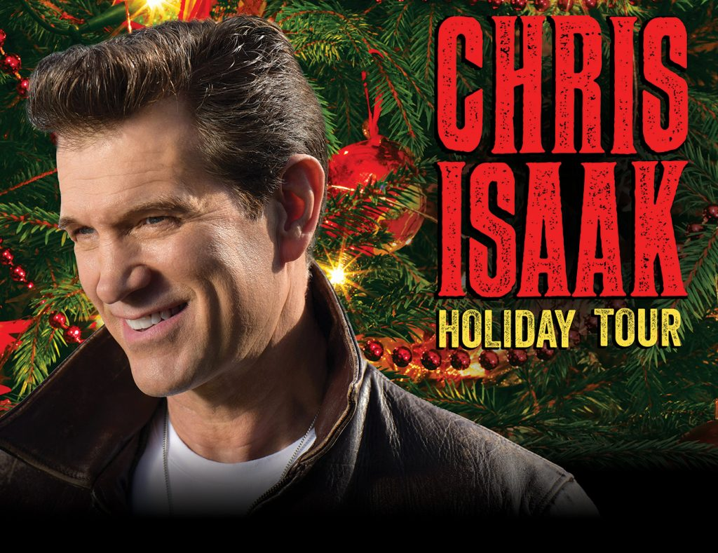 Chris Isaak Holiday 2019Uptown Theatre Napa